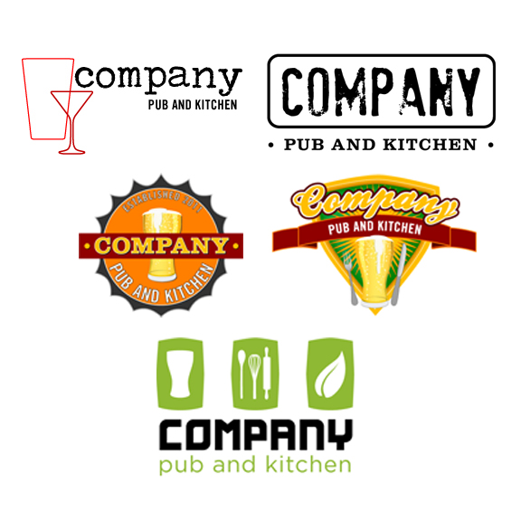 New Gastropub Logo – Preliminary Offerings