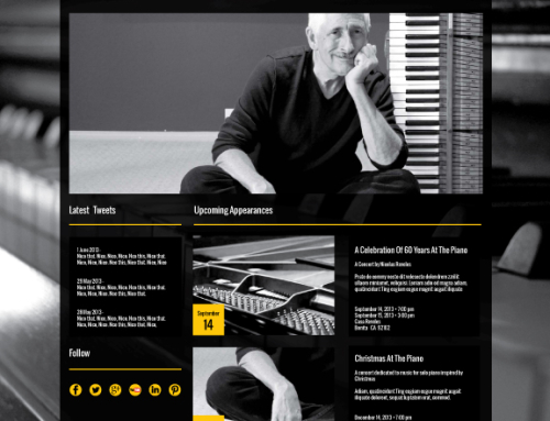 Classical Artist New Website