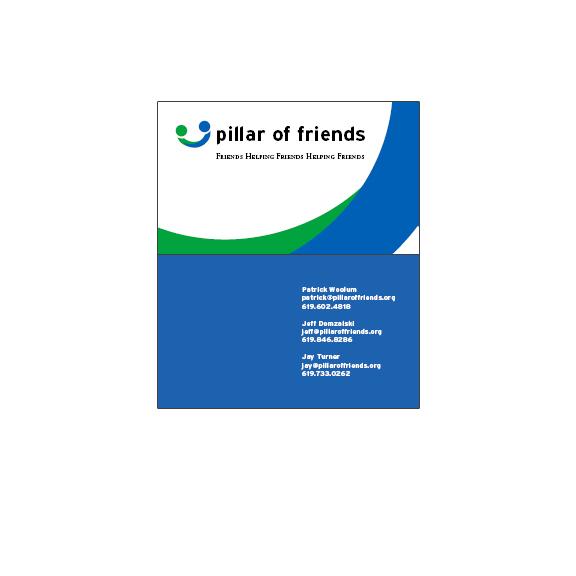Pillar of Friends Business Card
