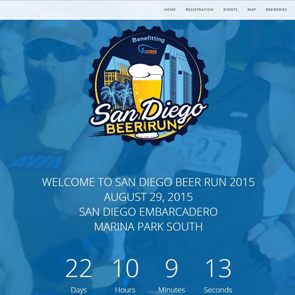 San Diego Beer Run Website
