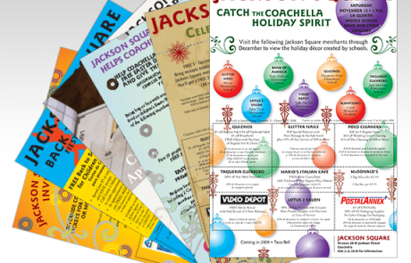 Retail Shopping Center Coupon Flyers
